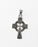 P5 Silver Celtic Cross Pendant