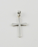 WP5 Silver Cross Pendant