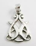 P58 Pretty tear drop shape pendant