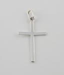 WP9 Silver Cross Pendant