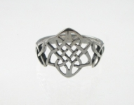 R237 Silver celtic ring