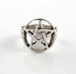 R215 Pentagram ring