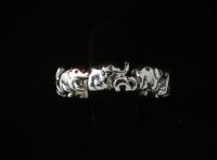 R9 Silver Elephant Ring