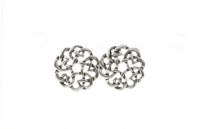 S103 Silver Celtic Studs