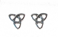 S130 Silver Celtic Studs