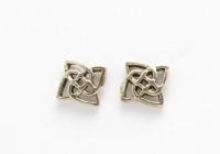 S33 Celtic square studs