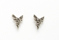 S37a Silver Fairy Studs
