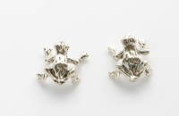 S50 Silver frog studs
