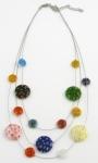 SHN12 Murano glass necklace