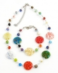 SHN14 Murano glass necklace