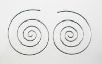 H76 Spiral Hoops