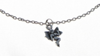 A14 Sterling silver fairy anklet
