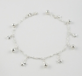A20 Silver star anklet