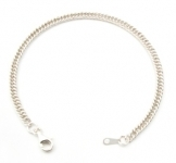 B37 Flat close linked bracelet