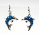 BFOE21 Dolphin earrings