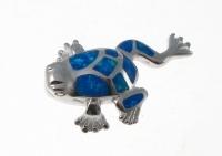 BFOP37 Frog pendant