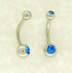 Baby belly bars 1,6 x 10mm
