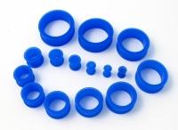 Blue Silicon Tunnel 4-30mm