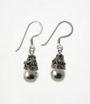 E109 Balinese drop earrings