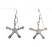 E113 Floral earrings