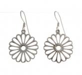 E113a flower earrings