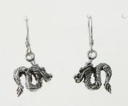 E118 Dragon Earrings