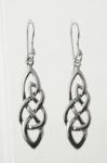 E133 Celtic Drop earrings