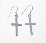 E42 Cross earrings
