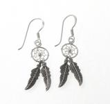 E59 Dreamcatcher Earrings