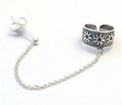 EC14 Sterling Silver Ear Cuffs