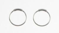 H36 silver hoop (nose ring)