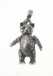 P136 Moving Teddy Bear