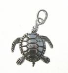 P377 Moving Turtle Pendant