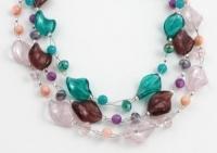 SHB18 Handmade glass bead bracelet