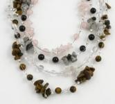 SHN19 Gemstone chip necklace