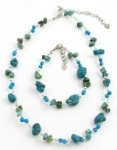 SHN6 Handmade turquoise necklace